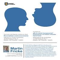 Imagen Visita Profesor Martin Fricke (UNAM)