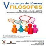 Imagen V Jornadas de Jóvenes Filósofos  (UdeC-USACH)